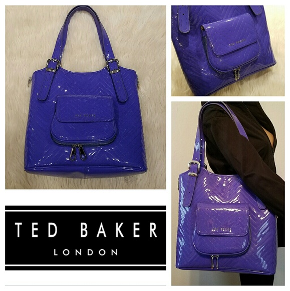 dabf83036485 Ted Baker Bags | New 220 Tama Chevron Quilted Tote Bag | Poshmark